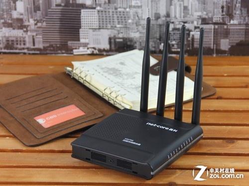 磊科nw755双频无线路由器