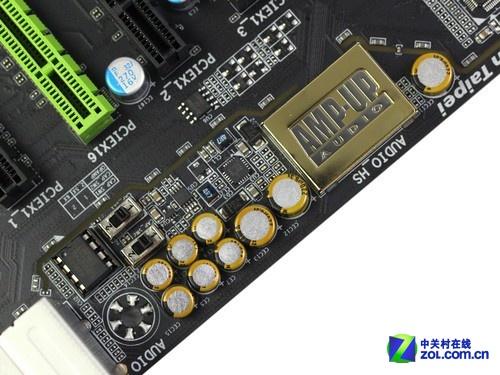 技嘉前置音频面板接线
