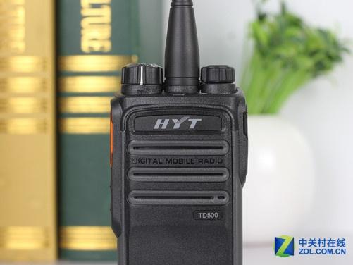 语音触发 海能达td500商用对讲机试用