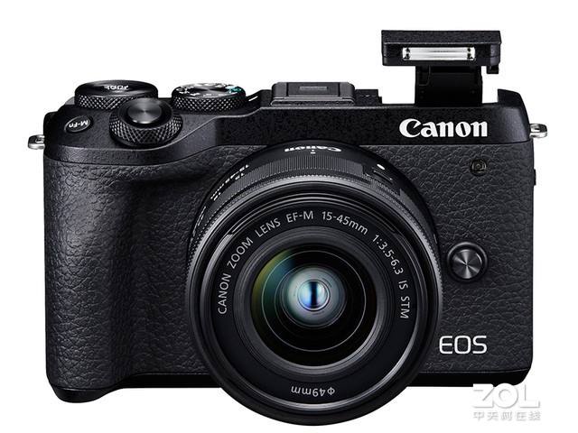 618促销 佳能 EOS M6 Mark II(15-45)