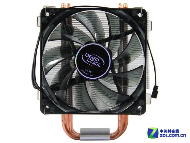 热管直触散热强 玄冰400散热器99.9元