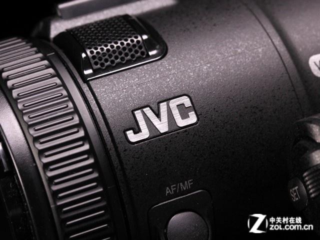 JVC GC-PX100黑色 品牌标识