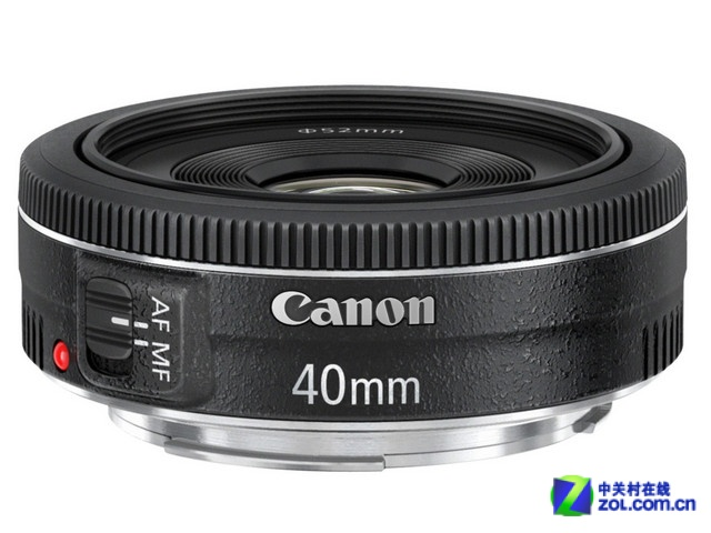 轻巧便携不显眼 佳能EF 40mm f2.8镜头