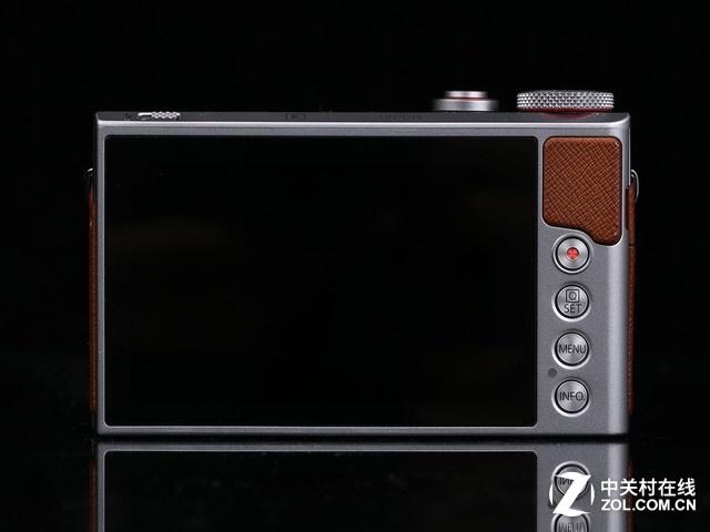 3英寸触控屏幕 佳能G9X II简单易用