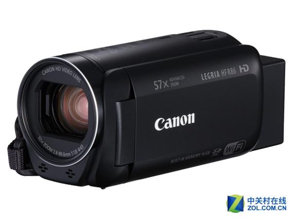 高清画质 佳能HF R86数码摄像机2550元