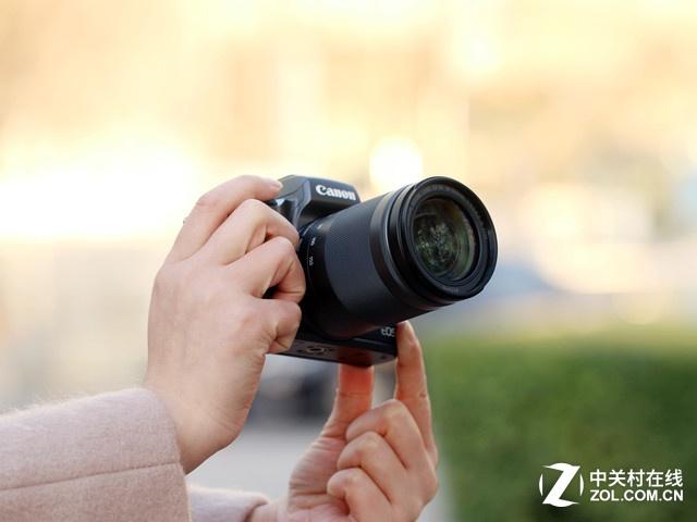 高性能微单相机 佳能M5搭载大变焦镜头