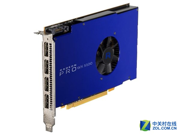 AMD Radeon Pro WX 5100 8GB售价2599元