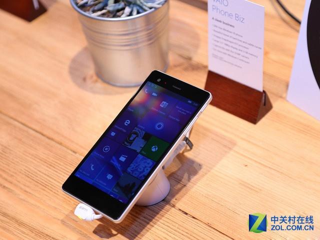 或4月发售 Vaio Phone Biz通过蓝牙认证